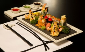 Sushi at Chopsticks Restaurant (Wyndham Grand Regency Doha)