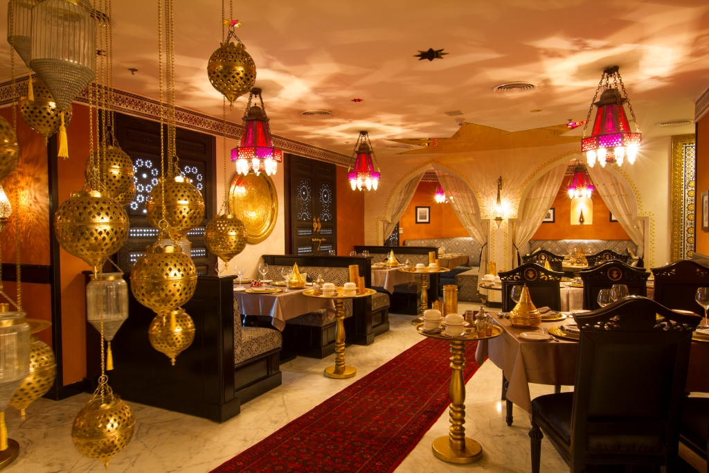 Tangia restaurant iftar buffet wyndham grand regency doha for Authentic moroccan cuisine
